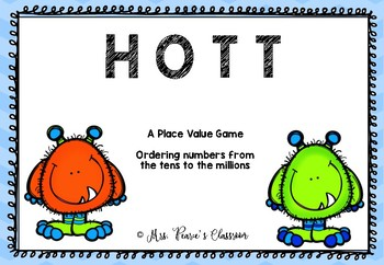 HOTT Place Value Ordering Game