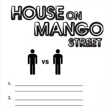 House On Mango Street Conflict Graphic Organizer 6 Types Of Conflict