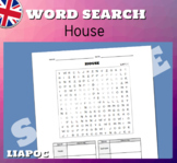 HOUSE (easy Word Search)