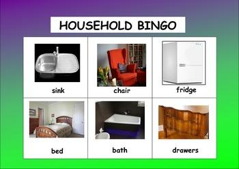 HOUSEHOLD BINGO