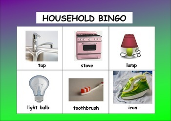 HOUSEHOLD BINGO