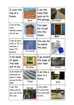 HOUSEHOLD CLUES