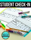 HOW ARE YOU FEELING TODAY STUDENT CHECK IN