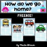 HOW DO WE GO HOME? Bulletin Board {FREEBIE}
