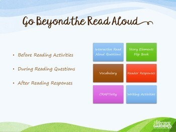 HOW I SPENT MY SUMMER VACATION {Beyond the Read Aloud}