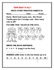 HOW MANY IN ALL? A MATH ADDITION PRACTICE  BUNDLE K & 1