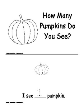 HOW MANY PUMPKINS DO YOU SEE? BOOK