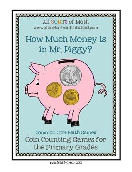 """""""HOW MUCH MONEY IS IN MR. PIGGY?"""" Money Games"""