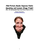 HOW Picture Books Improve Public Speaking and Lessen Stage Fright