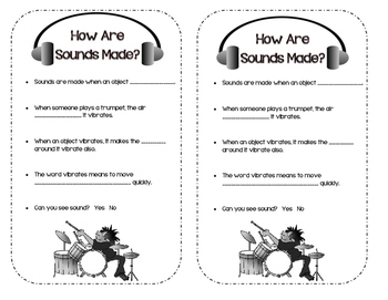 HOW SOUNDS ARE MADE
