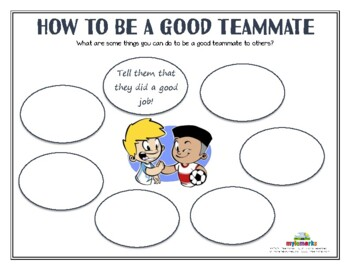 HOW TO BE A GOOD TEAMMATE (Sportsmanship)