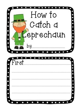 HOW TO CATCH A LEPRECHAUN BOOKLET
