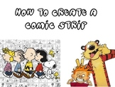 HOW TO CREATE A COMIC STRIP POWER POINT