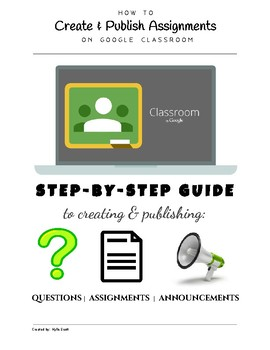 HOW TO Post Assignments in GOOGLE CLASSROOM!