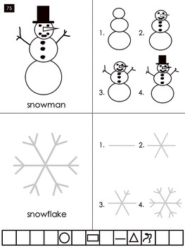 HOW TO DRAW! A SNOWMAN