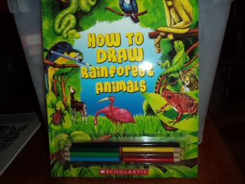 HOW TO DRAW RAINFOREST ANIMALS  ISBN 0-439-87579-X