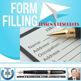 HOW TO FILL A FORM