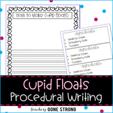 CUPID FLOATS WRITING TEMPLATE