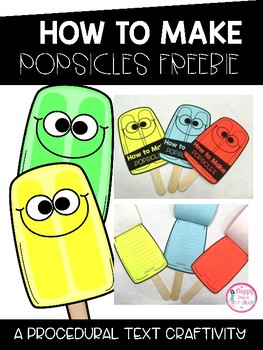 HOW TO MAKE POPSICLES CRAFTIVITY