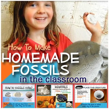 HOW TO Make Homemade Fossils in the Classroom