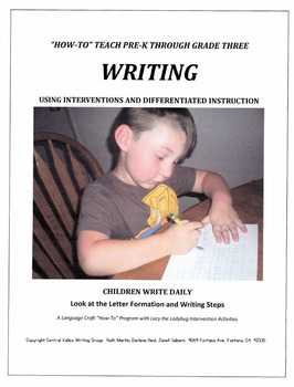 HOW-TO Teach WRITING Using Interventions and Differential