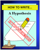 HOW TO WRITE... A Hypothesis