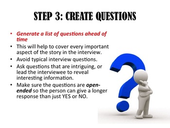 HOW TO WRITE AN EFFECTIVE INTERVIEW POWER POINT