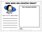 HOW WERE YOU CREATIVE TODAY?