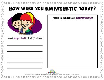HOW WERE YOU EMPATHETIC TODAY?