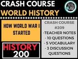 How World War I Started: Crash Course World History #209