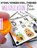 "H""OWL""oween Owl Poke Multiplication Facts 1-12"
