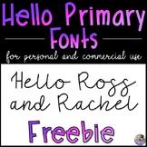 HP Fonts FREEBIE