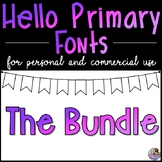 HP Fonts Growing Bundle