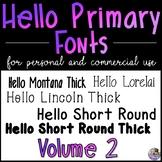 HP Fonts Volume 2