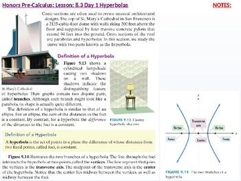 HPC: CU 10 & 11: 8.3 Day 1: Hyperbolas