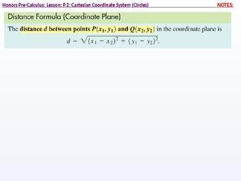 HPC: CU 10 & 11: P.2: Circles