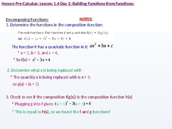 HPC: CU 1A: 1.4 Day 2: Building Functions from Functions