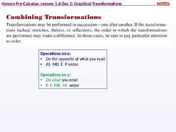 HPC: CU 1B: 1.6 Day 2: Graphical Transformations