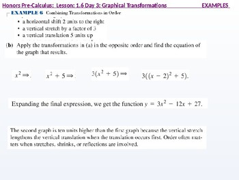 HPC: CU 1B: 1.6 Day 3: Graphical Transformations