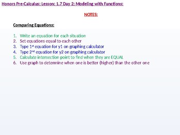 HPC: CU 1B: 1.7 Day 2: Modeling with Functions
