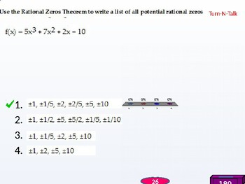 HPC: CU 2A: 2.4 Day 2: Real Zeros of Polynomial functions