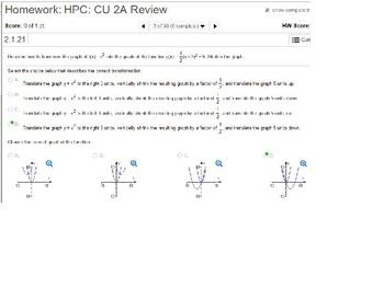 HPC: CU 2A: Review: Polynomials
