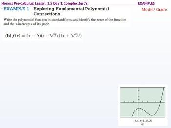 HPC: CU 2B: 2.5 Day 1: Complex Zeros and the Fundamental Theorem of Algebra