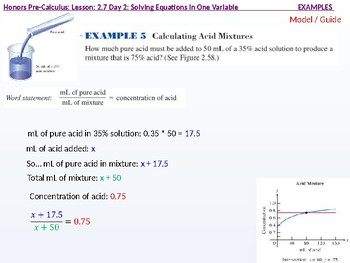 HPC: CU 3: 2.7 Day 2: Solving Equations in one Variable