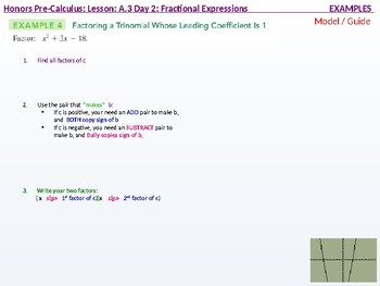 HPC: CU 3: A.3 Day 2: Fractional Expressions