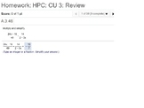 HPC: CU 3: Review: Rational Functions