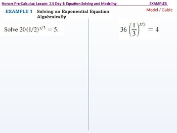 HPC: CU 4B: 3.5 Day 1: Equation Solving and Modeling