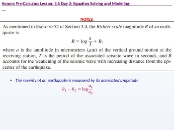 HPC: CU 4B: 3.5 Day 2: Equation Solving and Modeling