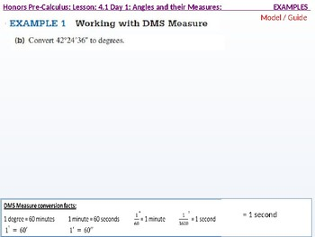 HPC: CU 5: 4.1 Day 1: Angles and Their Measures
