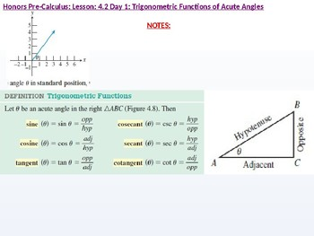 HPC: CU 5: 4.2 Day 1: Trigonometric Functions of Acute Angles
